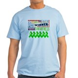 Powerful Bile Duct Cancer T-Shirt