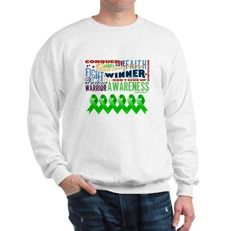 Powerful Bile Duct Cancer Sweatshirt