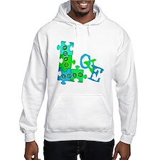 Unique Autism ribbon Hoodie