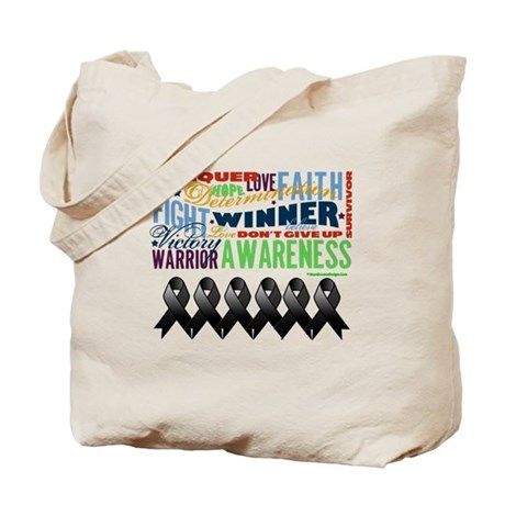 Empowering Skin Cancer Tote Bag