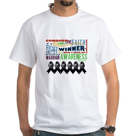 Empowering Skin Cancer White T-Shirt