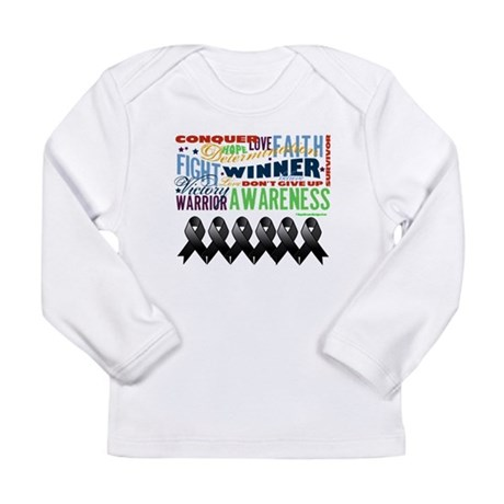 Empowering Skin Cancer Long Sleeve Infant T-Shirt