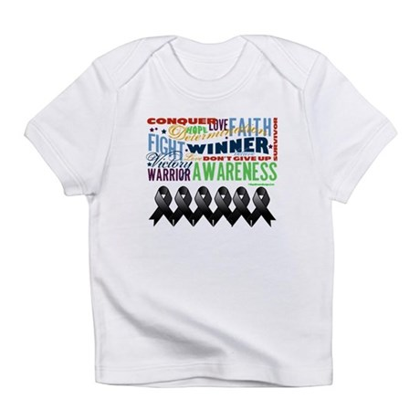 Empowering Skin Cancer Infant T-Shirt