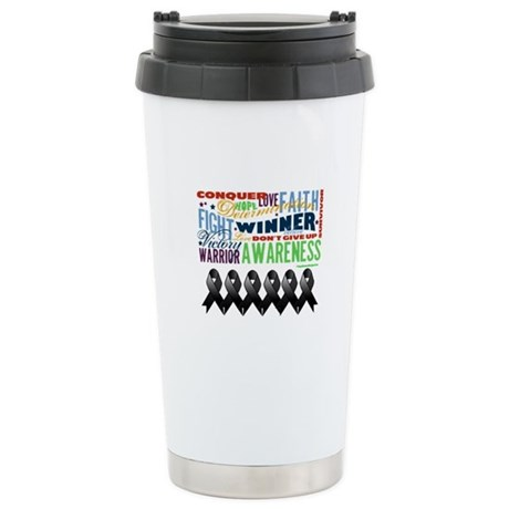 Empowering Skin Cancer Ceramic Travel Mug
