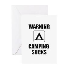 Camping Sucks Greeting Card