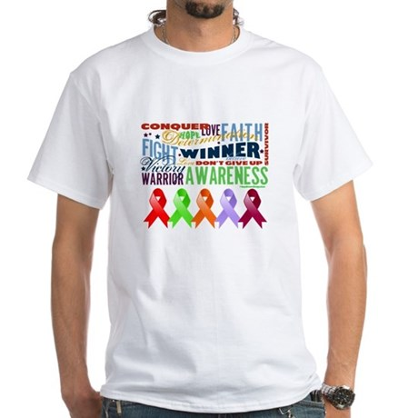The Blood Cancers White T-Shirt