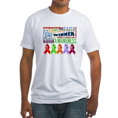 The Blood Cancers Fitted T-Shirt