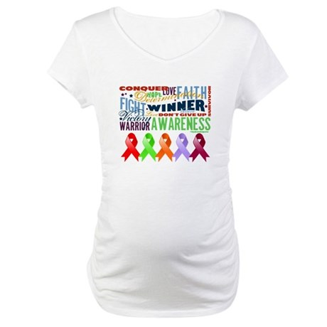 The Blood Cancers Maternity T-Shirt
