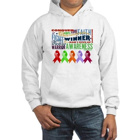 The Blood Cancers Hooded Sweatshirt