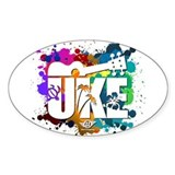 Color Me Uke! Decal