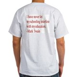 Mark Twain Quote - Ash Grey T-Shirt