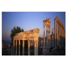 Turkey, Pergamum, temple ruins