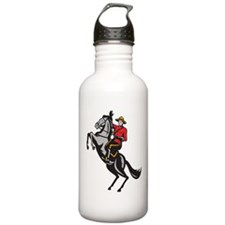 Canadian Police Mountie Water Bottle