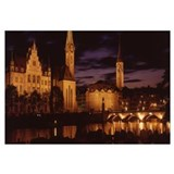 Switzerland, Zurich, Limmat River