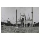 India, Delhi, mosque