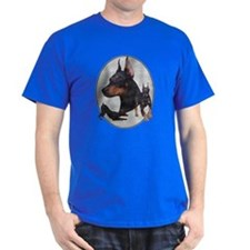 Three Dobes Retro T-Shirt