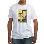 NIXON FOR GOVERNOR Fitted T-Shirt
