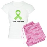 Personalized Celiac Disease Ribbon pajamas
