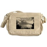 Dream the impossible dream Messenger Bag