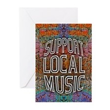 Support Local Music Greeting Cards (Pk of 20)