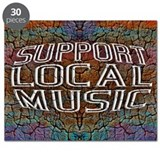Support Local Music Puzzle