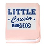 Little Cousin - Team 2012 baby blanket