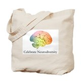 Celebrate Neurodiversity Tote Bag