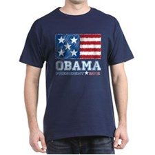 Obama Stars & Stripes T-Shirt
