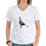 Flying Flight Teager Women's V-Neck T-Shirt