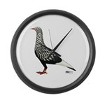 Flying Flight Teager Large Wall Clock