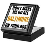 Baltimore Baseball Keepsake Box