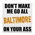 Baltimore Baseball Tile Coaster