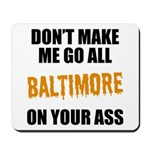 Baltimore Baseball Mousepad