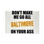 Baltimore Baseball Rectangle Magnet