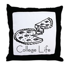Unique Dorm life Throw Pillow
