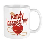 Randy Lassoed My Heart Mug