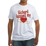 Richard Lassoed My Heart Fitted T-Shirt
