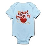 Richard Lassoed My Heart Infant Bodysuit