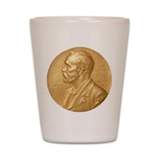 Nobel Peace Prize Shot Glass