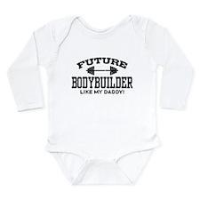 Future Bodybuilder Long Sleeve Infant Bodysuit