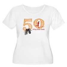 50 Mile Ladies Plus Size Scoop Neck T-Shirt
