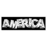 America Sticker (Bumper 10 pk)
