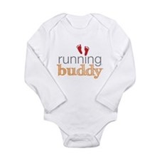 Running Buddy Orange Onesie Romper Suit