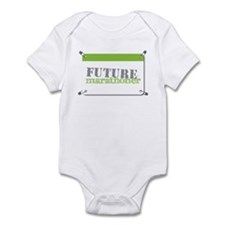 Future Marathoner Lime Infant Bodysuit