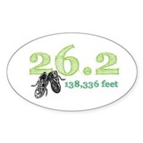 26.2 Mile Marathon Decal