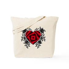 Heart-N-Thorns Tote Bag
