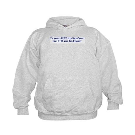 Ride with Ted Kennedy Kids Hoodie