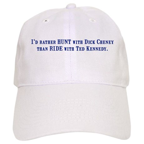 Ride with Ted Kennedy Cap