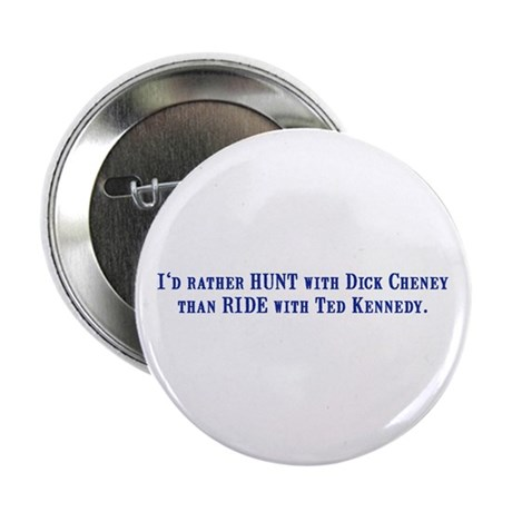 Ride with Ted Kennedy Button