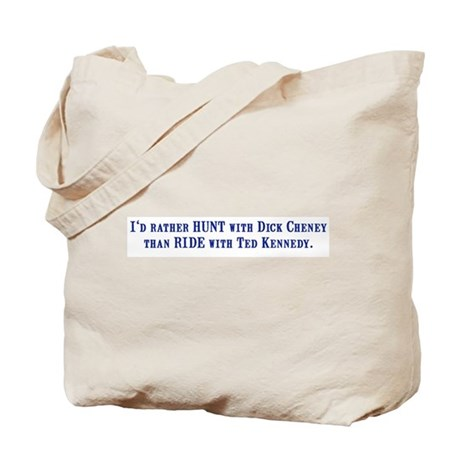 Ride with Ted Kennedy Tote Bag